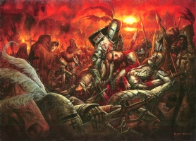 crusades   collab bisley and staples Comic Art